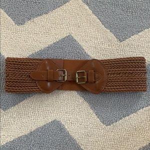 BCBG Maxazaria Brown Belt